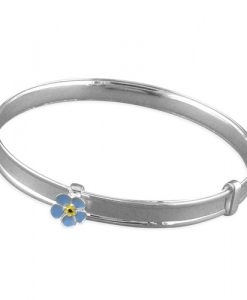 forget me not adjustable bangle