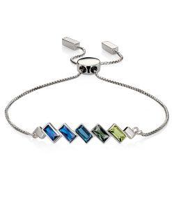 blue fade bracelet