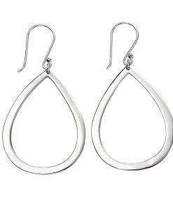 Open Teardrop Earrings