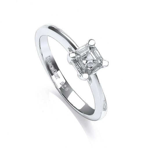 Diamondust Swarovski zirconia solitaire ring Diamondust Swarovski zirconia solitaire ring