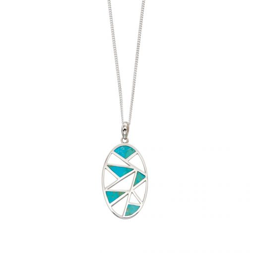 Turquoise Cut Out Pendant Turquoise Cut Out Pendant