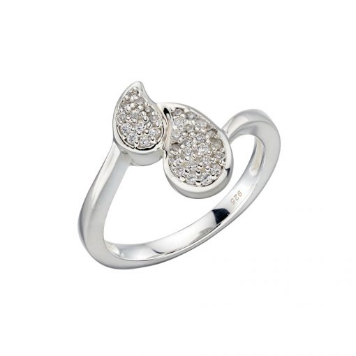 r3585c CZ Pave Ring r3585c CZ Pave Ring