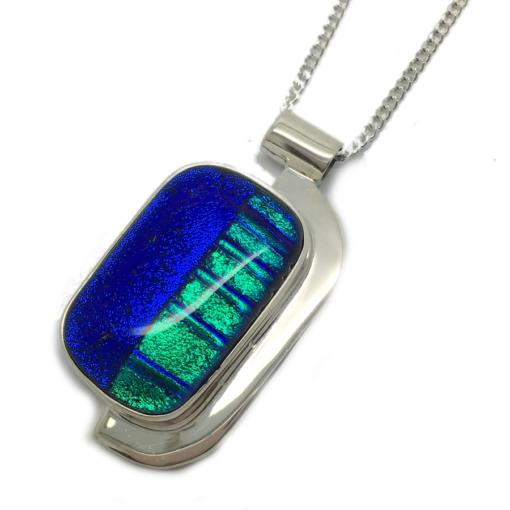 blue green pendant blue green pendant
