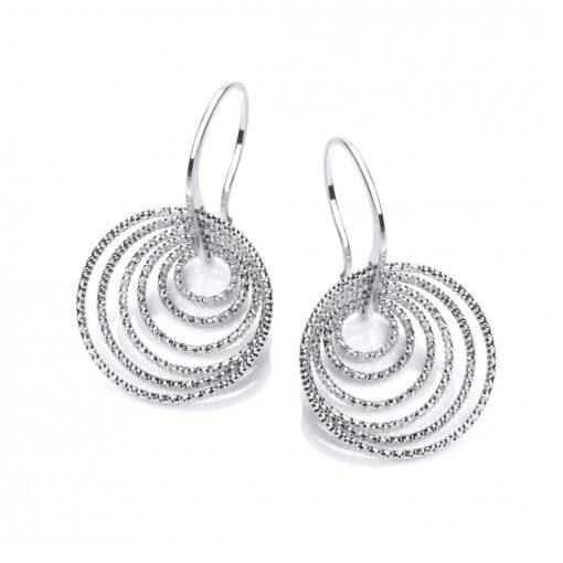 david deyong sterling silver multi hoops on hooks earrings p710 673 image david deyong sterling silver multi hoops on hooks earrings p710 673 image