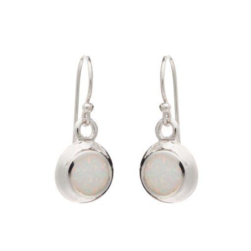SOE51WHITE Open Heart earrings SOE51WHITE Open Heart earrings