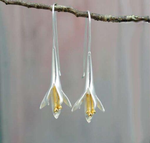 Long Fuchsia Earrings1 Long Fuchsia Earrings1