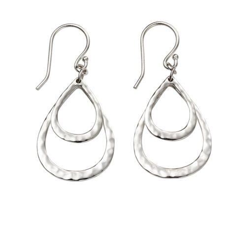 Double teardrop earrings Double teardrop earrings