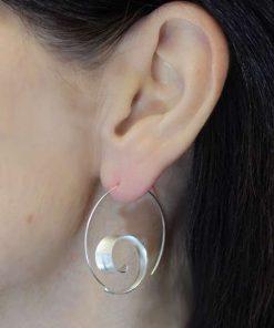 curl hoop earrings curl hoop earrings