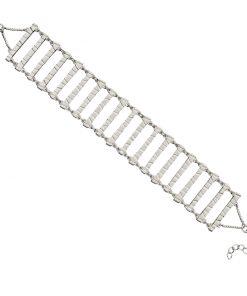 textured bar bracelet textured bar bracelet