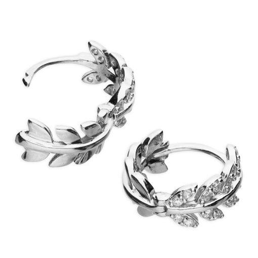 Leaf huggie earrings Leaf huggie earrings