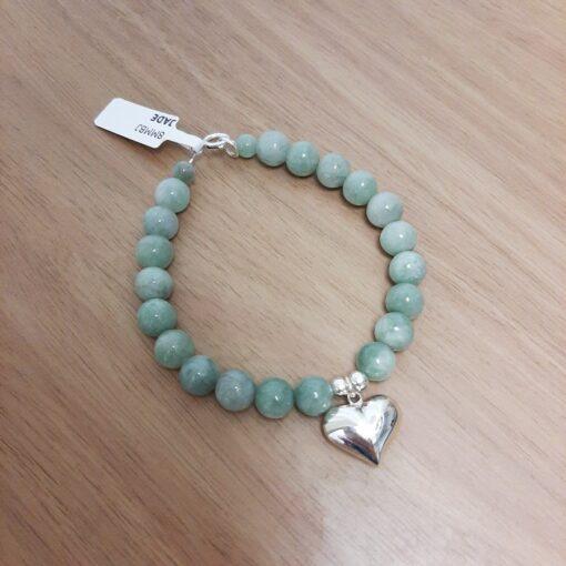Jade Heart Bracelet Jade Heart Bracelet