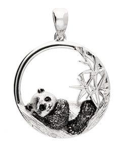 sleeping panda pendant