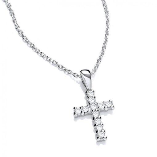 DiamonDust Small Cross Pendant DiamonDust Small Cross Pendant