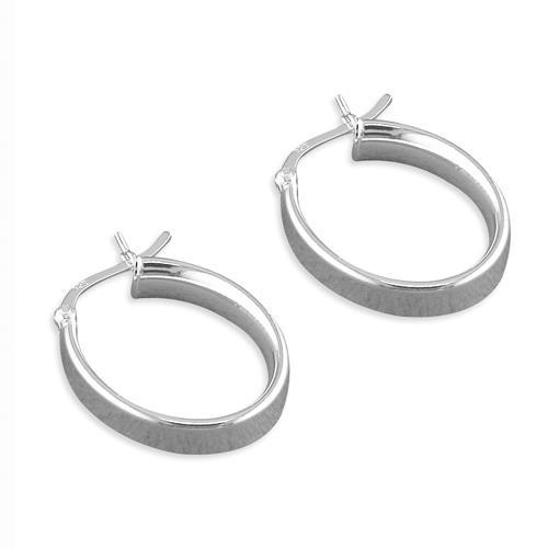 Oval Hoop Earrings Oval Hoop Earrings