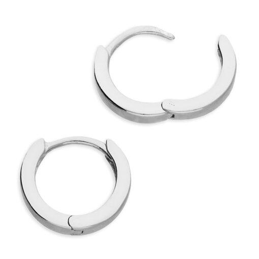 Small hinged hoop earrings Small hinged hoop earrings