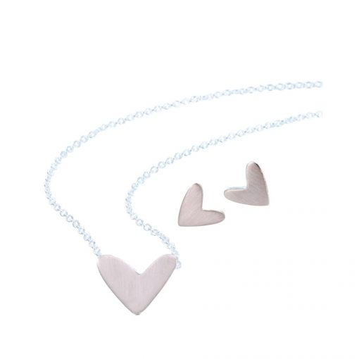 Heart necklace rose Heart necklace rose
