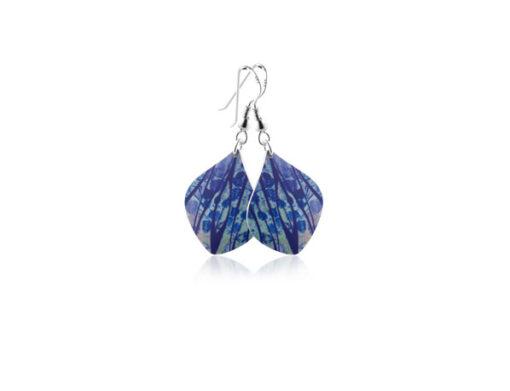 Honesty Blue Earrings Honesty Blue Earrings
