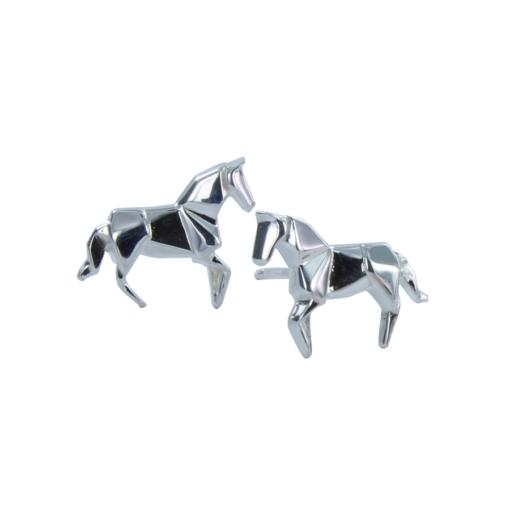 Origami Horse Stud Earrings Origami Horse Stud Earrings