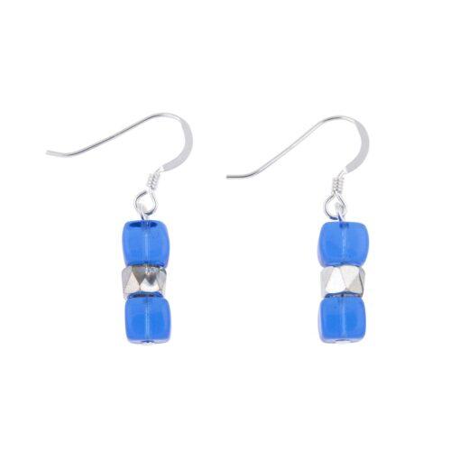 Blue Sparkle Earrings Blue Sparkle Earrings