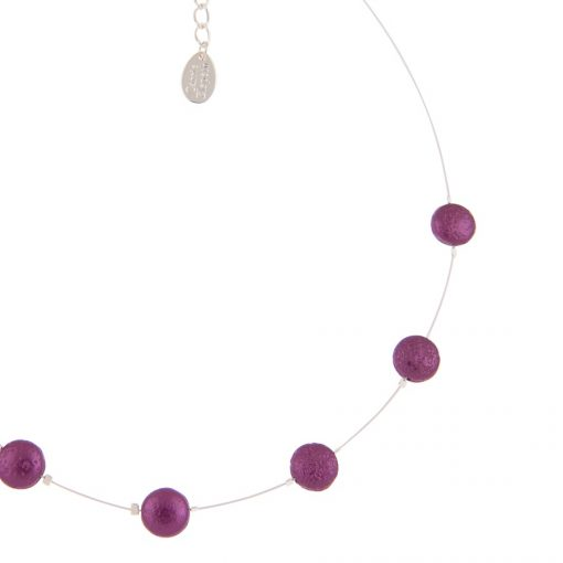 Cranberry Moons Necklace Spaced CU Cranberry Moons Necklace Spaced CU