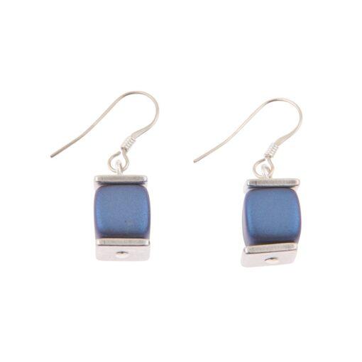 Slate Blue Deluxe Earrings Slate Blue Deluxe Earrings
