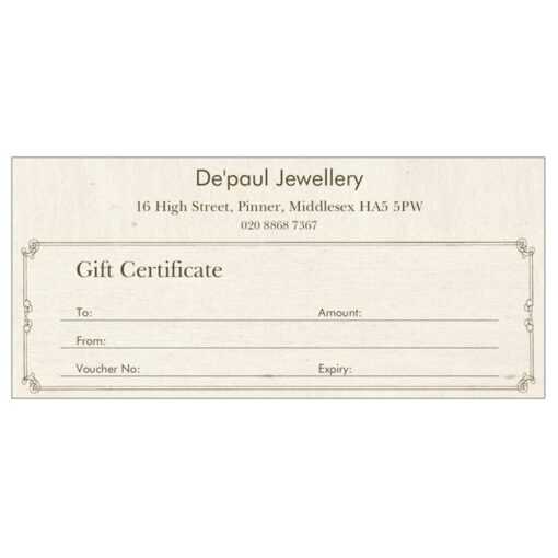 Gift Certificates Gift Certificates