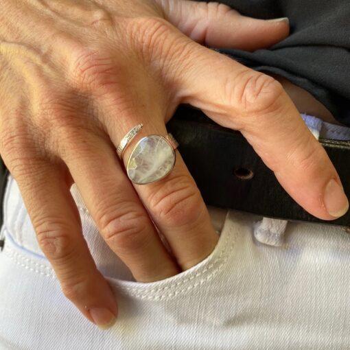 Moonstone Ring Moonstone Ring