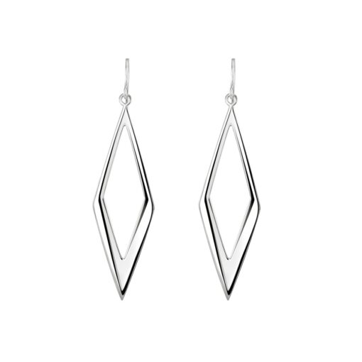 Diamond Shaped Statement Earrings Diamond Shaped Statement Earrings