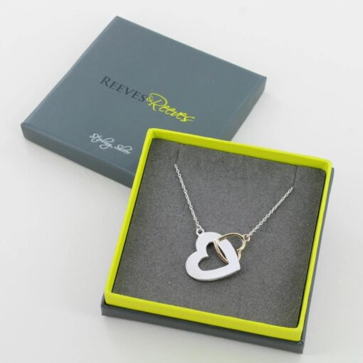 Double heart necklace Double heart necklace