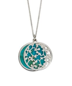 Turquoise Double Layer Pendant 1 Turquoise Double Layer Pendant 1