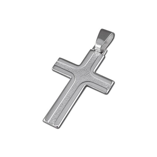 textured cross with polished edge textured cross with polished edge