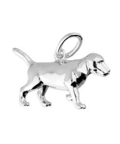 Silver Puppy Pendant