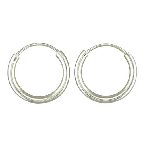 18mm Sleeper Hoop Earrings