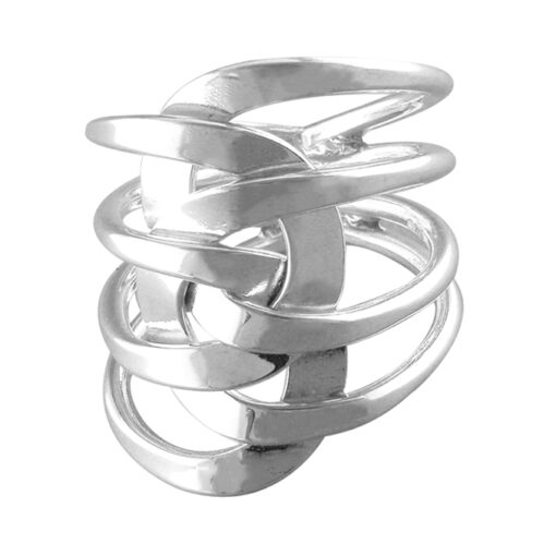 Layered Interlinked Loops Ring