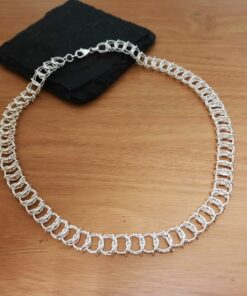 Textured Entwined Necklace