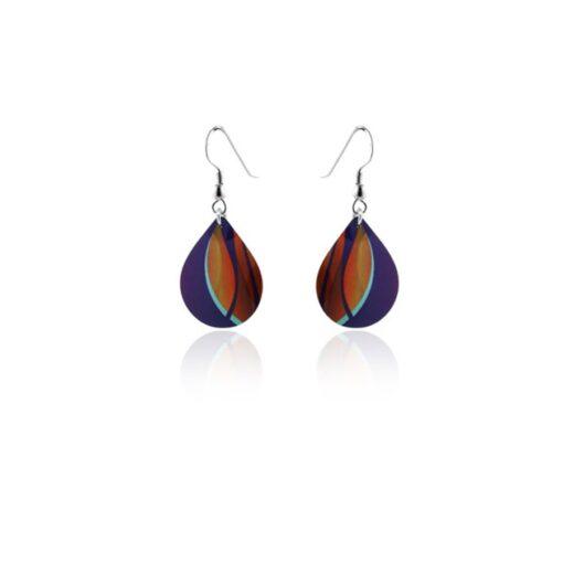 Accent Orange Earrings Hook 1 Accent Orange Earrings Hook 1