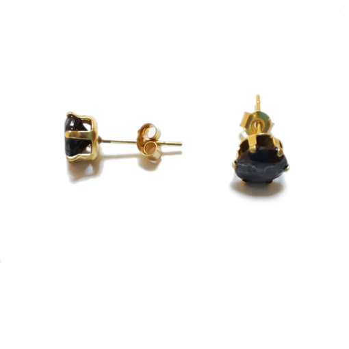 5mm Cubic zirconina stud earrings